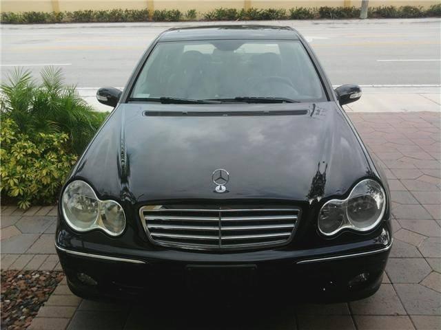 black Mercedes Benz