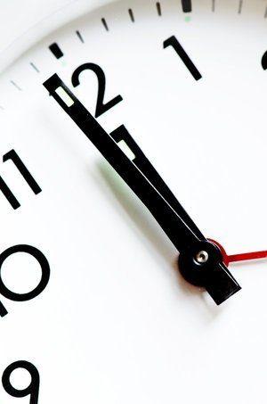 afternoon alarm clock display