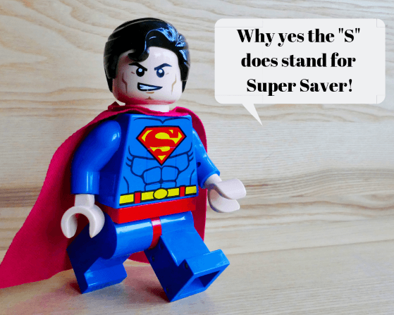 superman lego super saver