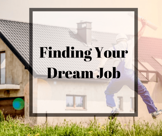 Finding your dream job man jumping in excitement