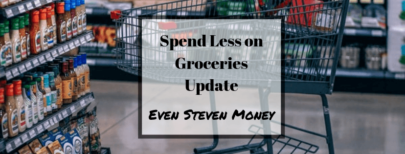 Spend Less on Groceries Update with Grocery Cart