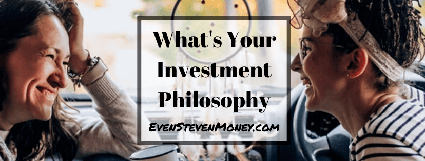 Investment Philosophy Even Steven Money Women Lauging