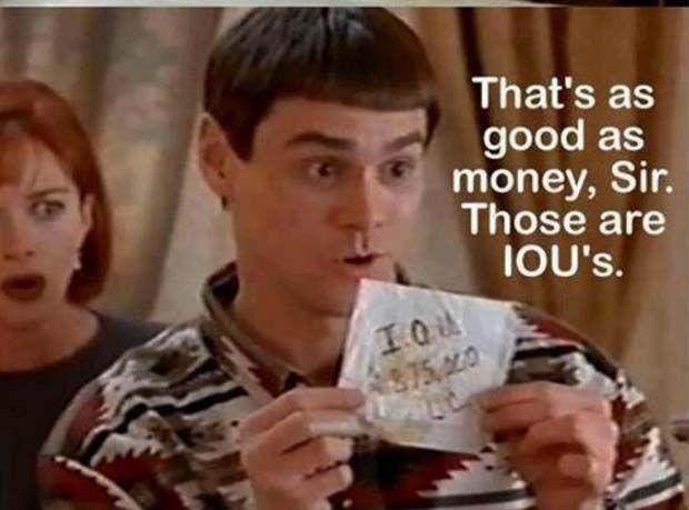 Jim Carey IOU's Bonds
