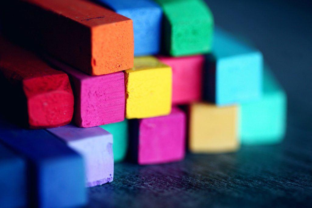 art supplies building blocks