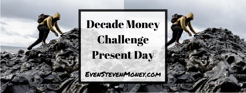 Decade Money Challenge Present Day Man Climbing Rocks