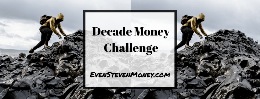 Decade Money Challenge Man Climbing Rocks by Ocean