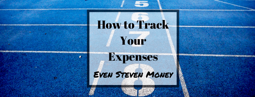 How to Track Your Expenses Numbers on a blue Track